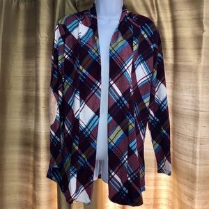 Sweaters - 🍐🎉HP🎉⚠️TWO LEFT! Plaid Elbow Patch Cardigan!